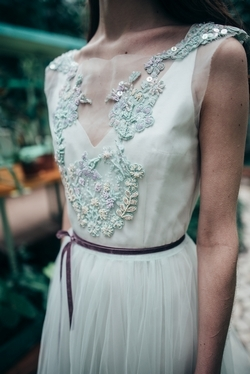Mint-wedding-dress-with-embroidered